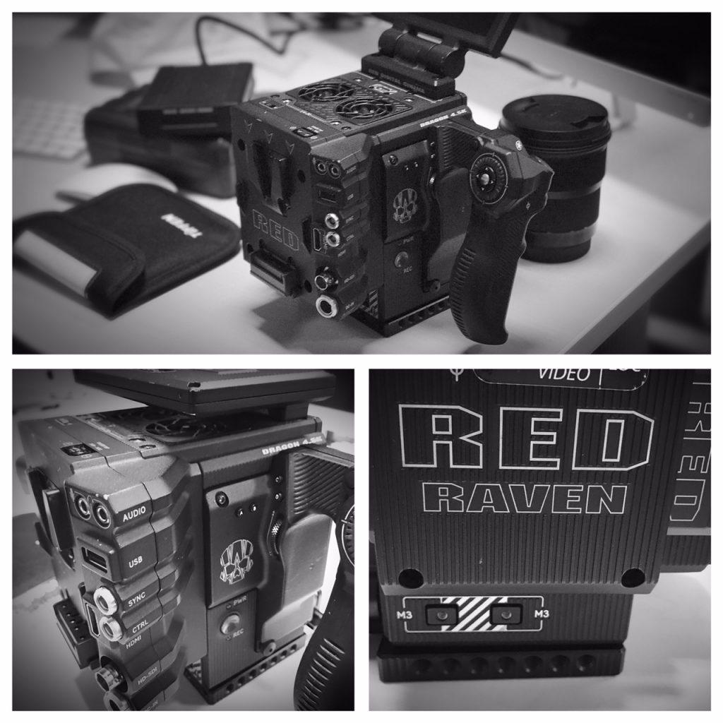 camera red réalisateur de clip