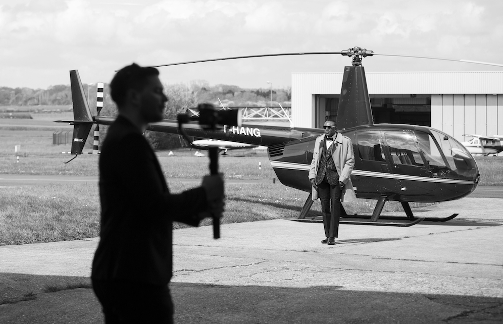 Shooting helicoptere Z clip